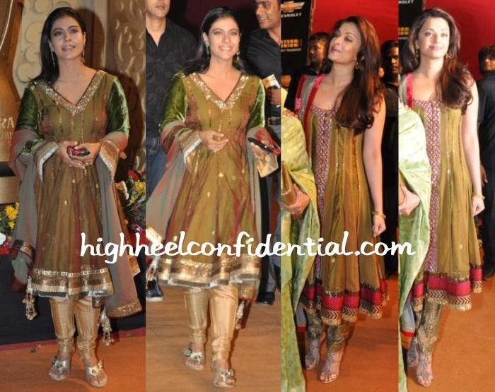 kajol-aishwarya-apsara-awards-2010