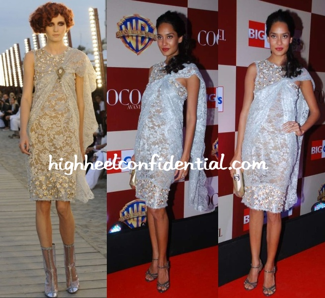 lisa-haydon-coco-chanel-dress