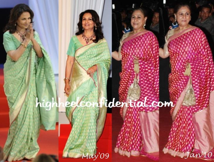 sharmila tagore-cannes up premiere-jaya bachchan-star screen awards-2010