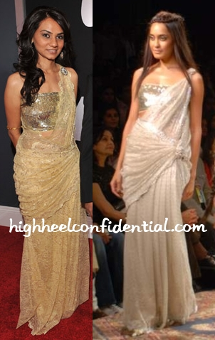 tanvi-shah-grammy-awards-2010-tarun-tahiliani