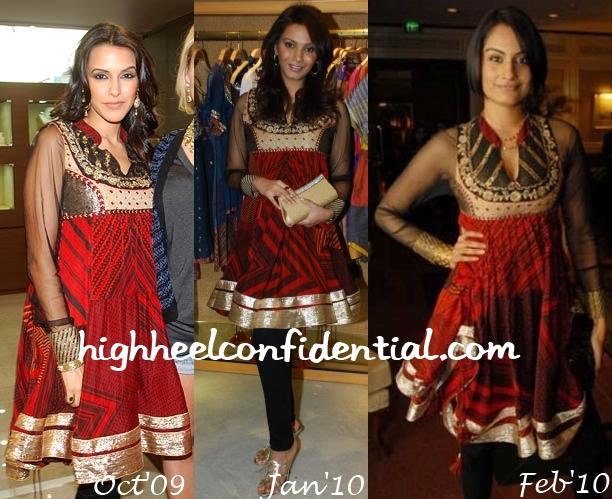 ekta-chaudhary-diana-neha-ritu-kumar-dress