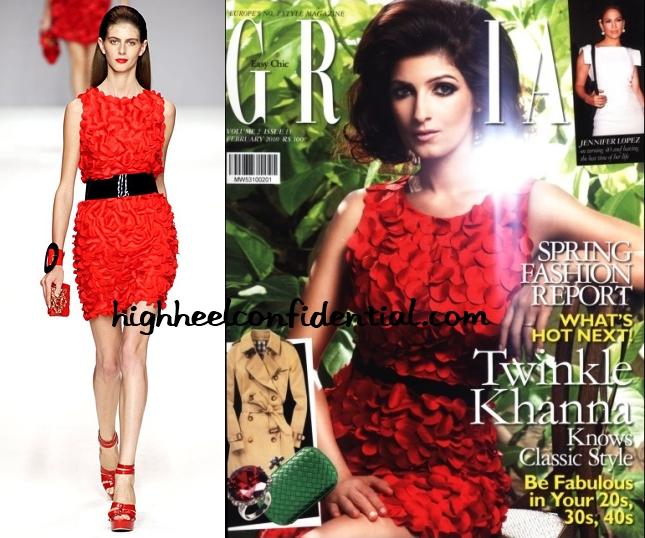 twinkle-khanna-grazia-feb-blugirl-red-dress