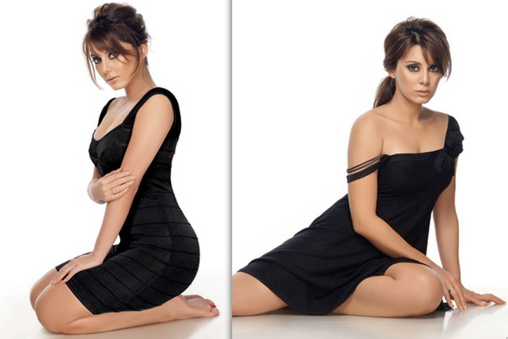 fhm-april-minissha lamba-fcuk dress