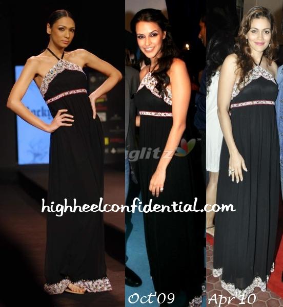 neha-dhupia-waluscha-robinson-rocky-s-dress