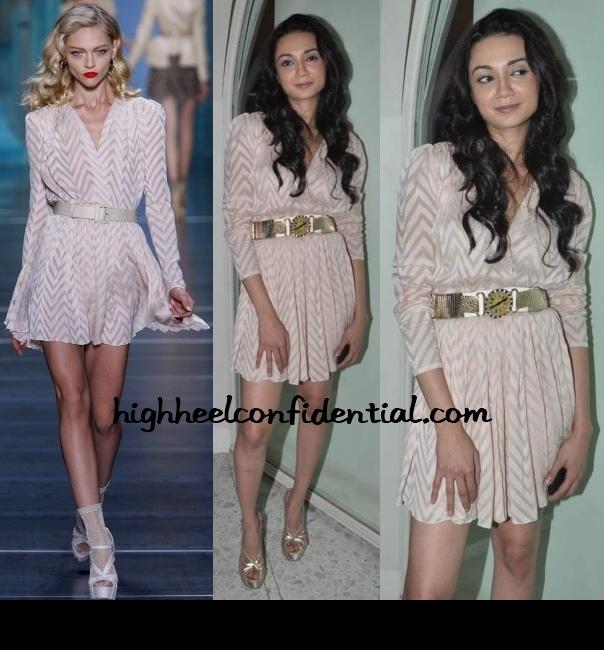 ira-dubey-aisha-music-launch-dior-dress