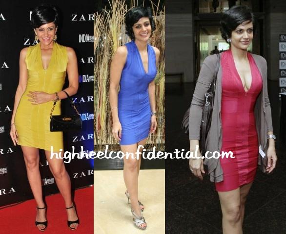 mandira-bedi-three-same-dresses
