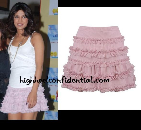 priyanka-chopra-forever-21-pink-skirt
