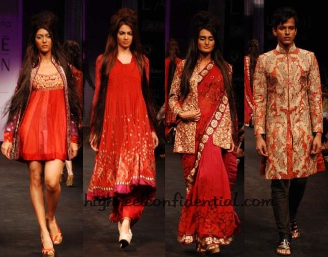 Lfw Winter Festive 2010 Krishna Mehta Soumitra Mondal High Heel Confidential