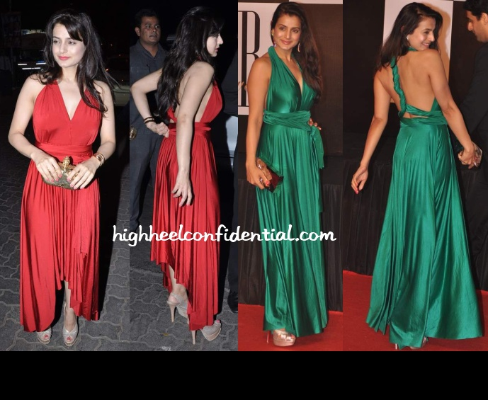 ameesha-patel-christmas-eve-bash-bachchan-70th-bash