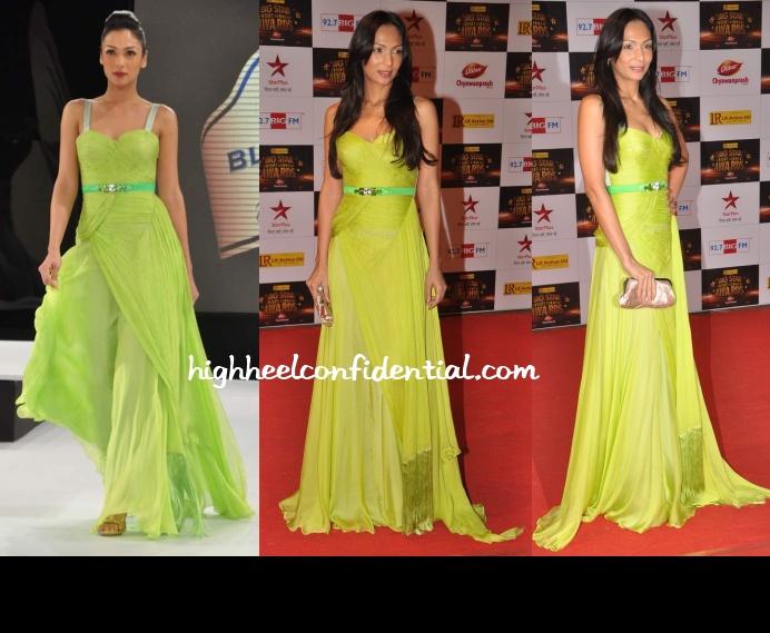 shamita-singha-gaviin-miguel-big-star-entertainment-awards-2012