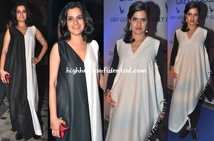 sona-mohapatra-in-kallol-datta-at-grey-goose-style-du-jour-event-and-at-imran-khan-housewarming-bash
