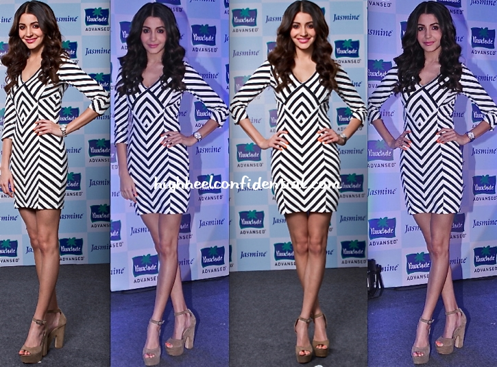 anushka-sharma-at-parachute-event-in-bebe-dress
