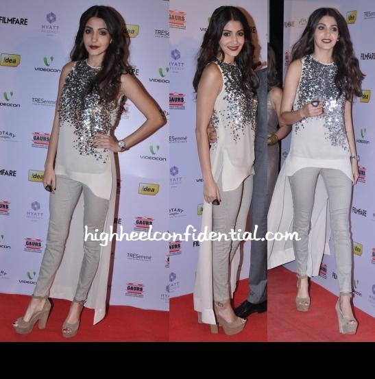 anushka-sharma-rohit-gandhi-rahul-khanna-filmfare-nominations-bash-2013