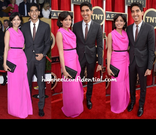freida-pinto-roland-mouret-screen-actors-guild-awards-2013