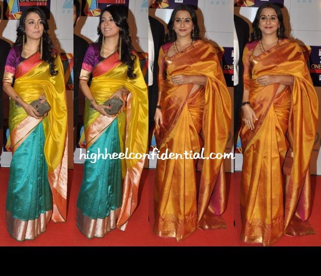 mini-mathur-vidya-balan-zee-cine-awards-2013