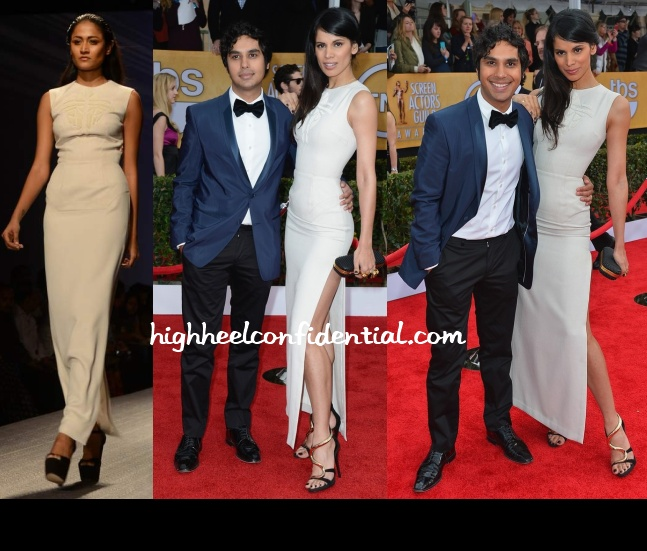neha-kapur-atsu-screen-actors-guild-awards-2013