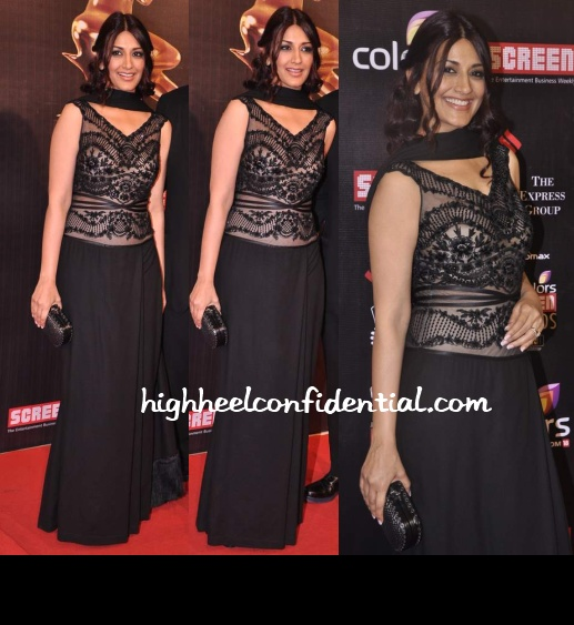 sonali-bendre-shahab-durazi-screen-awards-2013-1