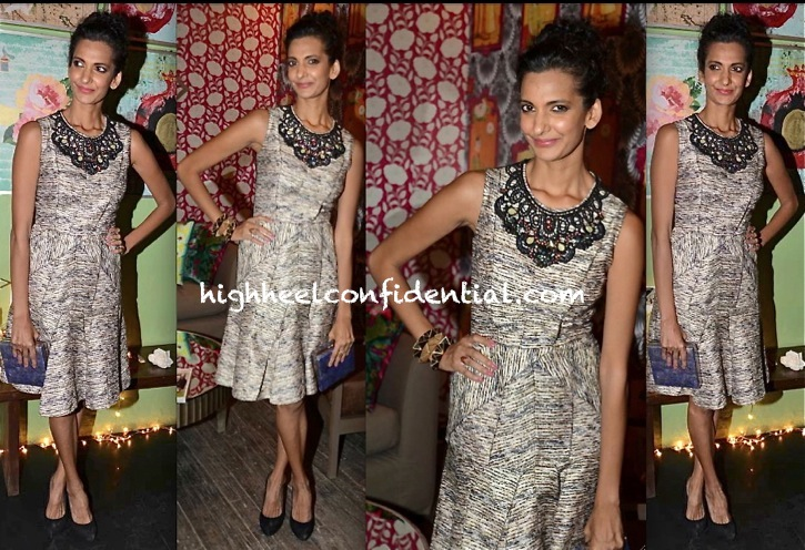 Poorna Jagannathan At The Good Earth Event In Drashta