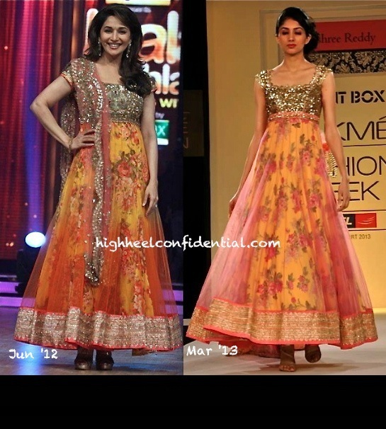 anushree reddy-lfw summer resort 2013-madhuri dixit-jhalak dikhla ja launch 2012