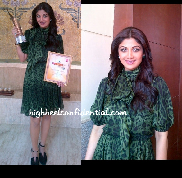 shilpa-shetty-dolce-gabbana-ndtv-lifestyle-awards-2013