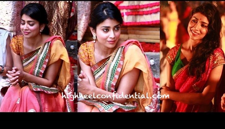 shriya saran at shonali nagrani wedding