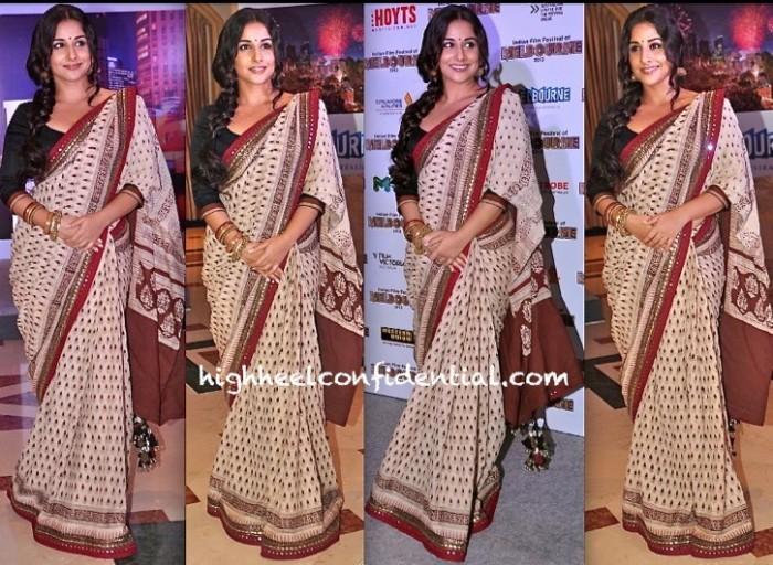 vidya balan-melbourne indian film festival-sabyasachi-1