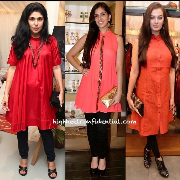 Anaita Shroff Adajania At Le Mill Preview-Nishka Lulla At Samsaara Preview-Evelyn Sharma At Label Ritu Kumar Store Launch