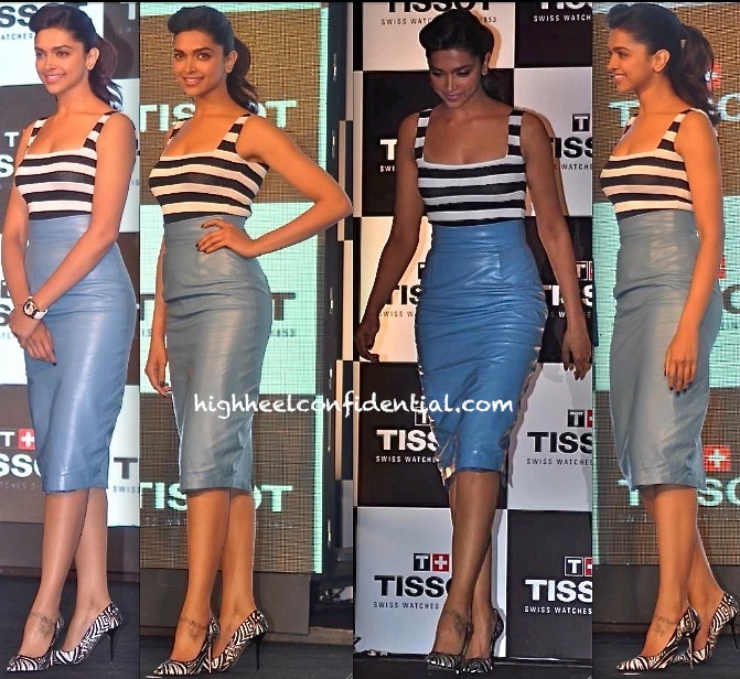 Deepika Tissot Heel Confidential At Padukone Event High cu1JK35TlF