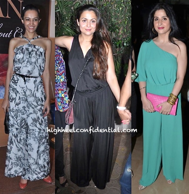 Dipannita Sharma At Luxury Expo-Amrita Arora At Olive-Maheep Kapoor At A Do Celebrating Sridevi Award
