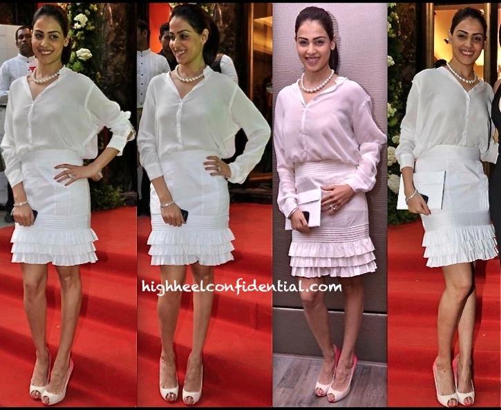 Genelia D Souza At Farah Khan Store Launch