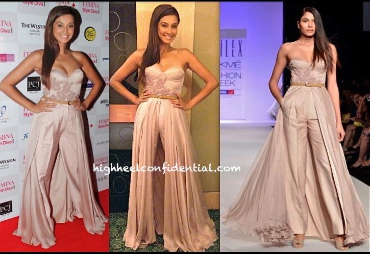 Shibani Dandekar In Sailex At Femina Style Diva Awards
