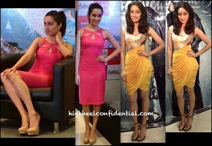 Shraddha Kapoor Promotes 'Aashiqui 2'  In Siddartha Tytler And Arpan Vohra-1