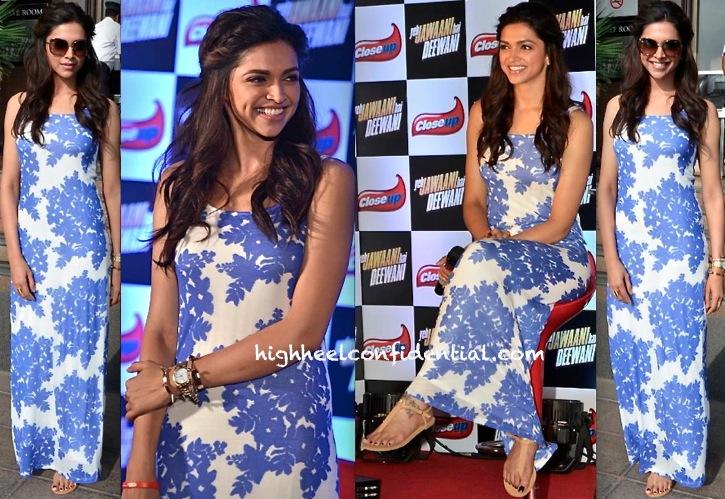 Deepika Padukone At Yeh Jawaani Hai Deewani Promotion