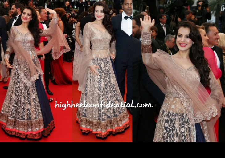 ameesha-patel-manish-malhotra-cannes-2013-all-is-lost-premiere
