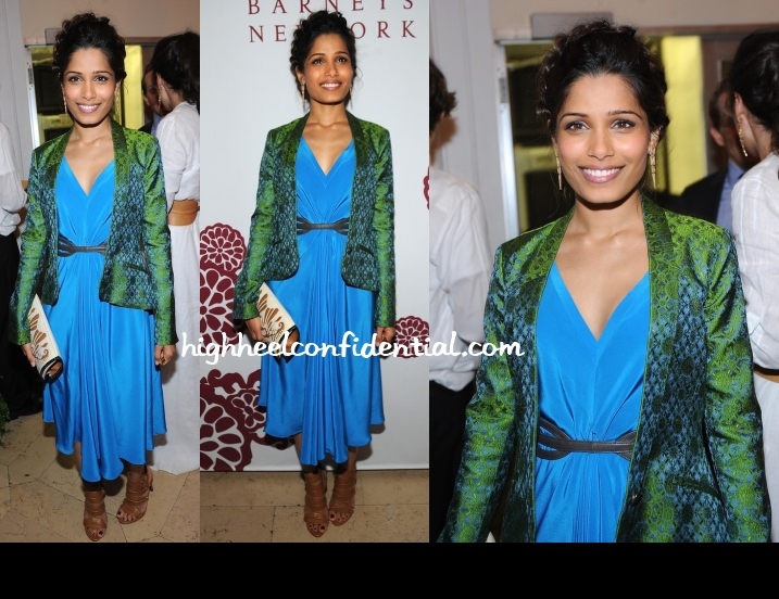 freida-pinto-maiyet-barneys-dinner-capsule-collection