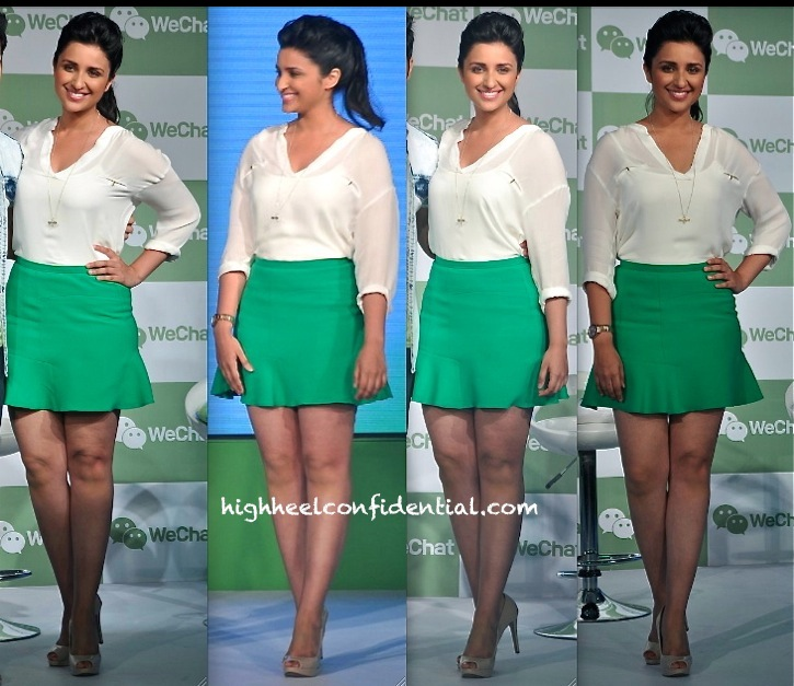 parineeti chopra in zara at wechat event