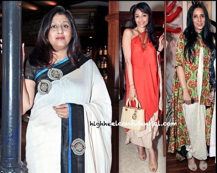 vogue wedding show 2013-priya tanna-anamika khanna-kalyani chawla