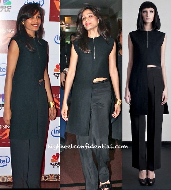 Freida Pinto In DRVV By Dhruv Kapur And Amrapali At girl rising Event
