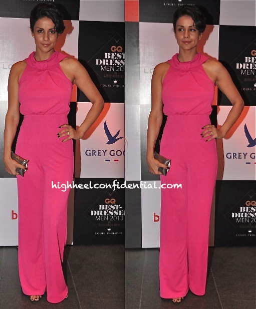 Gul Panag At GQ India's Best Dressed 2013 Event
