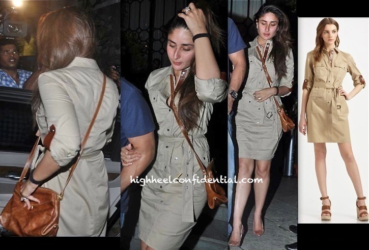 Kareena Kapoor Grabs Dinner At A New Restaurant Wearing Michael By Michael Kors