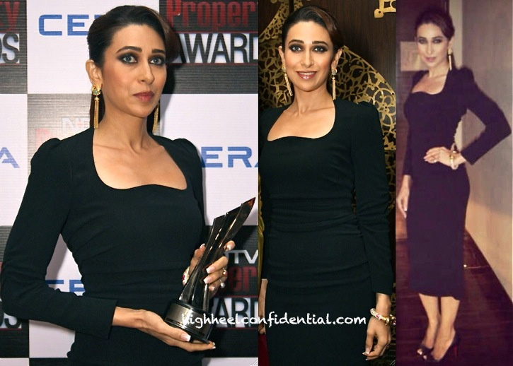 Karisma Kapoor In Dolce & Gabbana At NDTV Property Awards