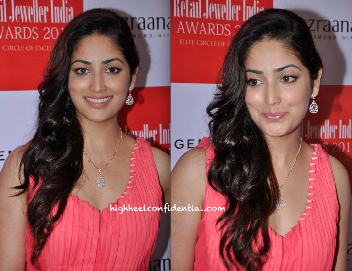 Yami Gautam In Gaurav Gupta At Retail Jeweller India Awards 2013 Jury Meet-1