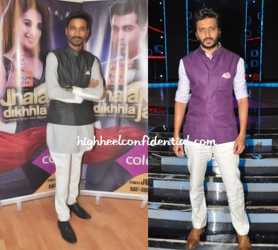 dhanush-ritesh-deshmukh-raghavendra-rathore-jackets