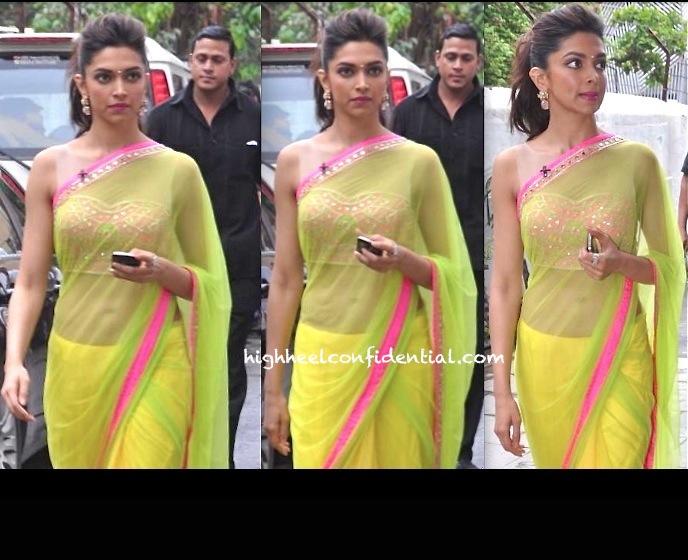 Deepika Padukone In Arpita Mehra At An Event Promoting Chennai Express-2