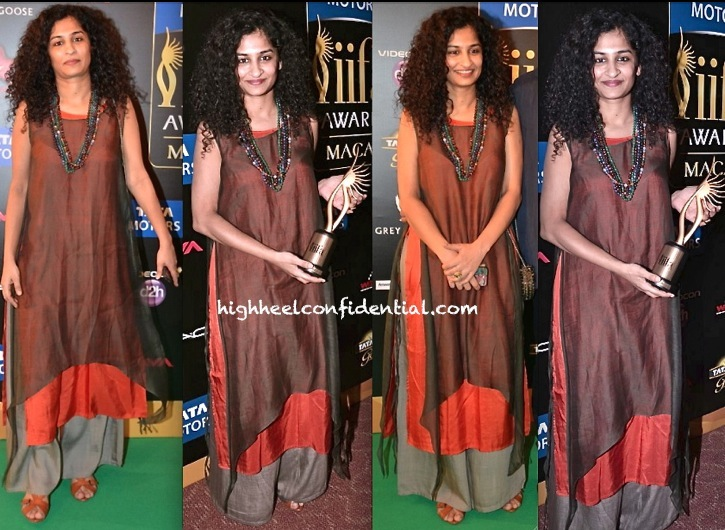 Gauri Shinde In Payal Khandwala At IIFA 2013