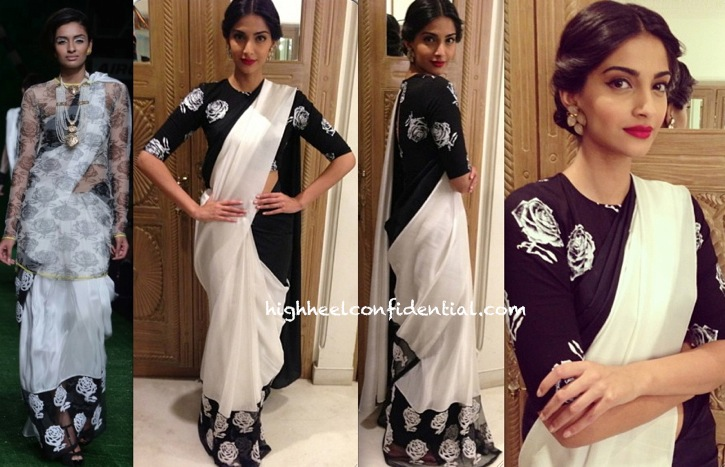 Sonam Kapoor At Bhaag Milkha Bhaag Promotions In Masaba