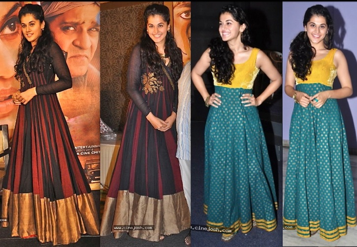 Taapsee In Shravan Ramaswamy At Sahasam Special Show And Success Meet-1