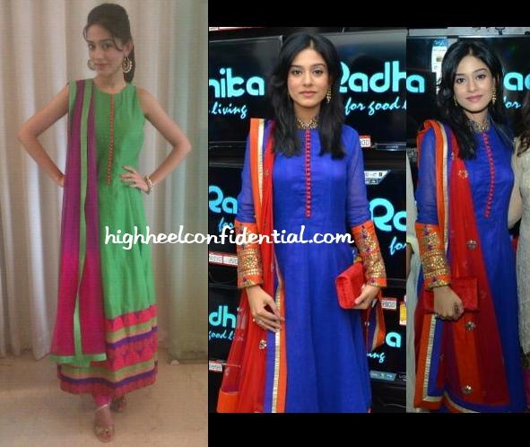 amrita-rao-sva-satyagraha-promotions-radhika-store-launch