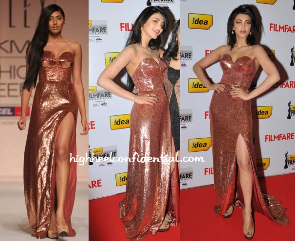 shruti-haasan-sailex-filmfare-south-awards-2013