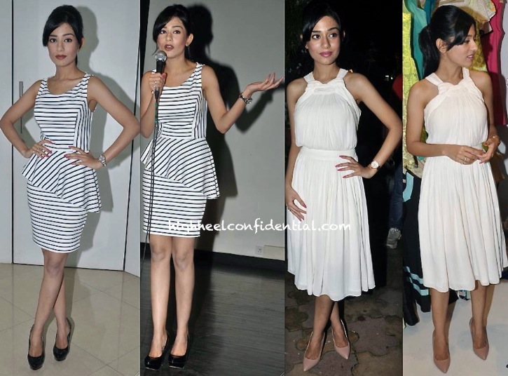 Amrita Rao At Lasha Store Launch And At umang college festival-1